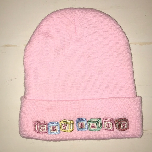 Pastel Pink Crybaby Beanie (Melanie Martinez). M 5c3a6baac9bf503c8d74bf70 031b9827595